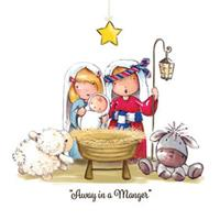 Away in a Manger (pack of 10)