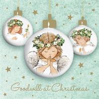 Angel Baubles (pack of 10)